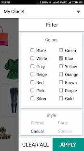 My Closet Wear - Your Fashion & Style Organizer - náhled