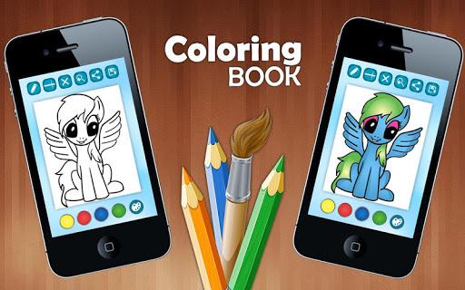 ColoringPages小小马 Joke