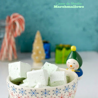 Creme de Menthe Marshmallows
