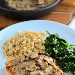 Chicken with Creamy Mushroom Sauce Recipe