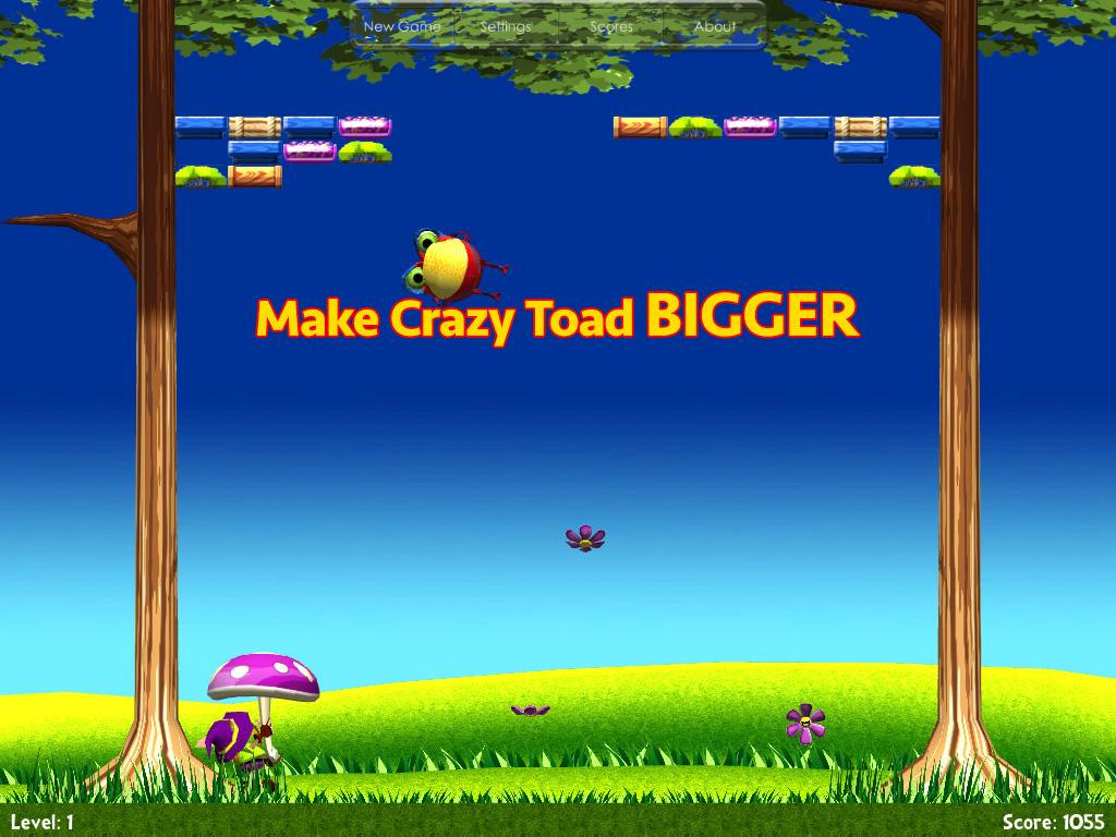 Crazy Toad- screenshot