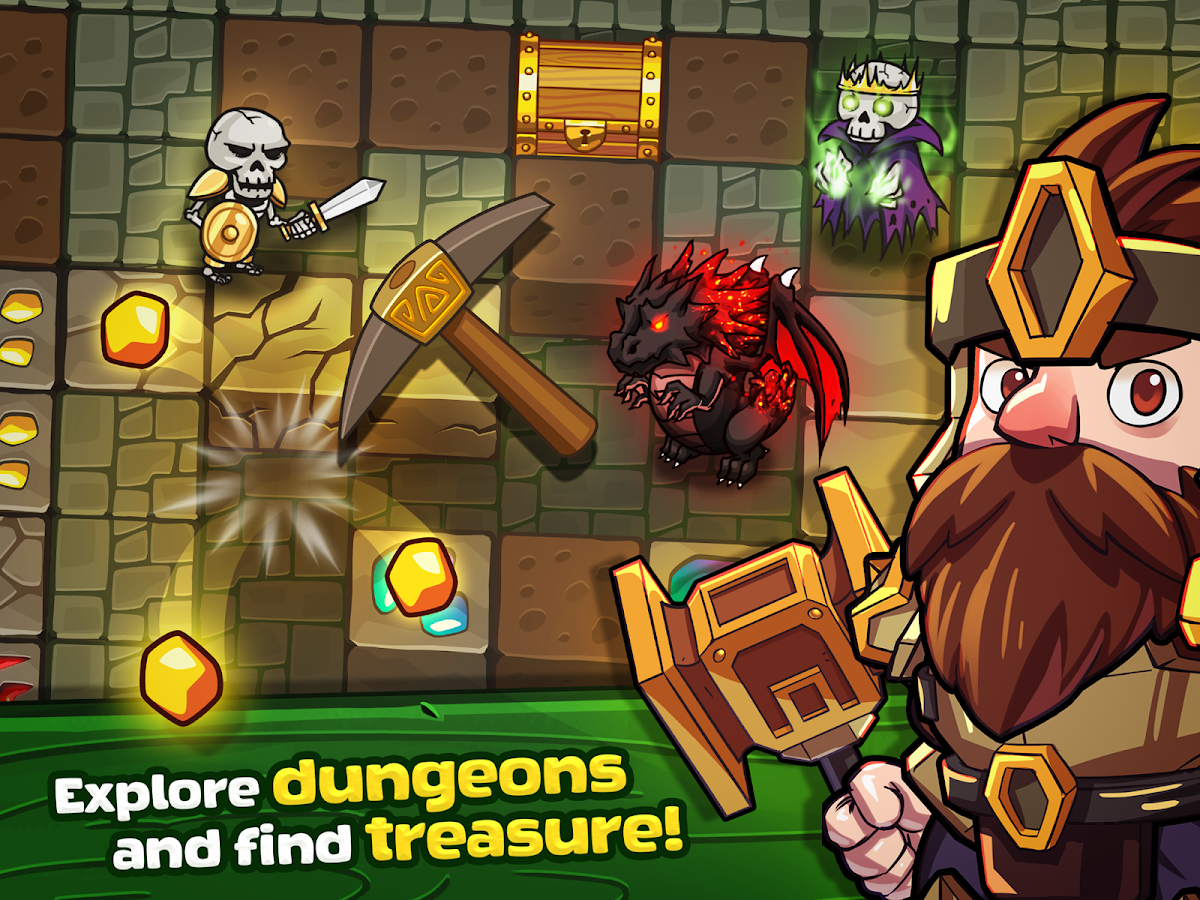 Mine Quest - Crafting and Battle Dungeon RPG- screenshot