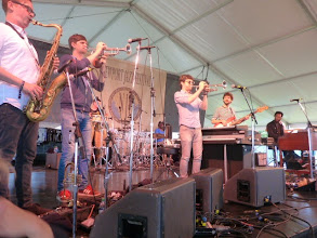 Photo: Snarky Puppy closes out day 1