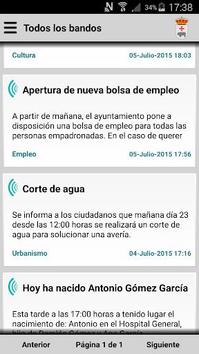Segura de Toro Informa