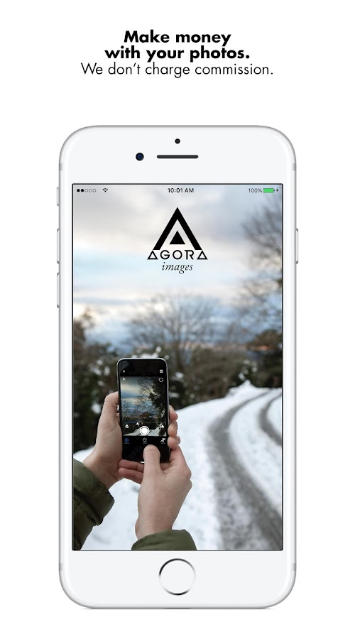 AGORA images: Sell your photos and make money 📸- screenshot