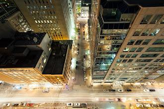 Photo: [Street for a King] - King Street, Toronto.  ISO: 200 Shutter: 20 Seconds Aperture: F/8ish Camera: Canon 5D MK II Lens: Rokinon 14mm F/2.8  #toronto  #rooftopping #urbex #longexposure #urbanexploration