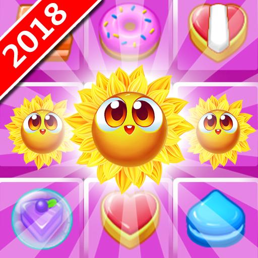 Plätzchen-Sonnenblume: Spiel 3 Puzzle