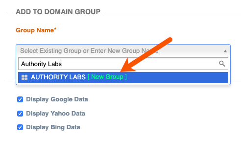 setup authority labs mobile rank tracking step 4