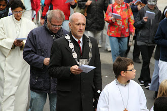 Photo: Borgmesteren er selvfølgelig med hele dagen