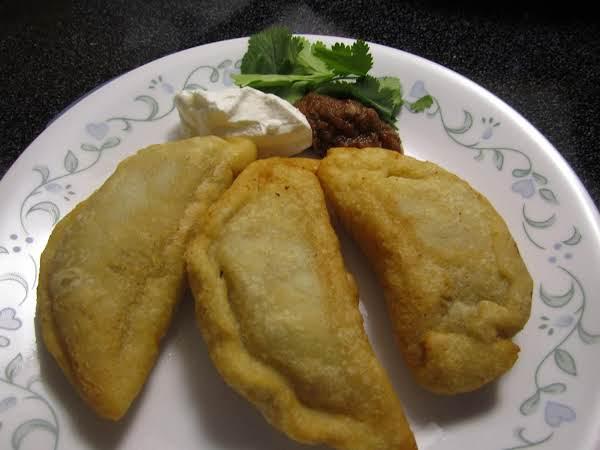 Fried Corn Empanadas.