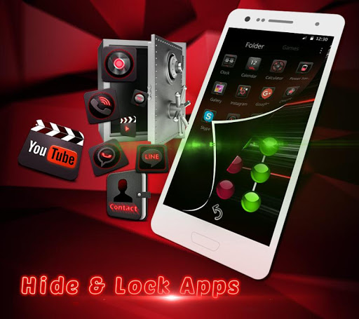 Dark Red Launcher 5.31.10 screenshots 6