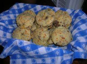 Sausage Cheese Biscuits Recipe
