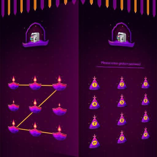 AppLock Theme Diwali