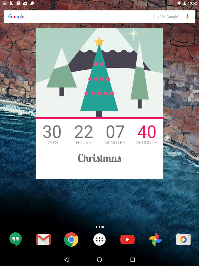 Facebook Clock Vacation Countdown
