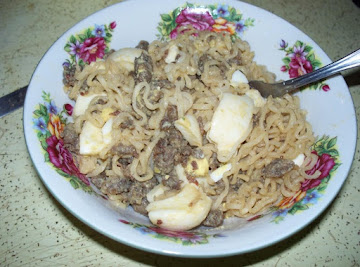 Sausage Ramen Dish Recipe
