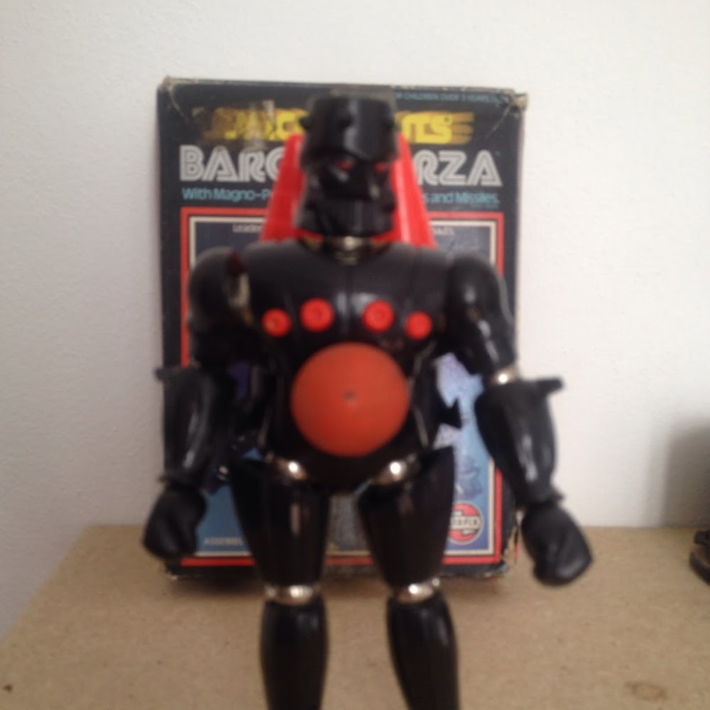 Micronauti: Baron Karza completo con scatola