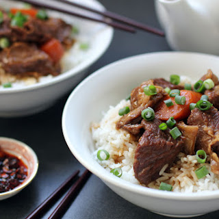 Chinese Style Braised Beef.