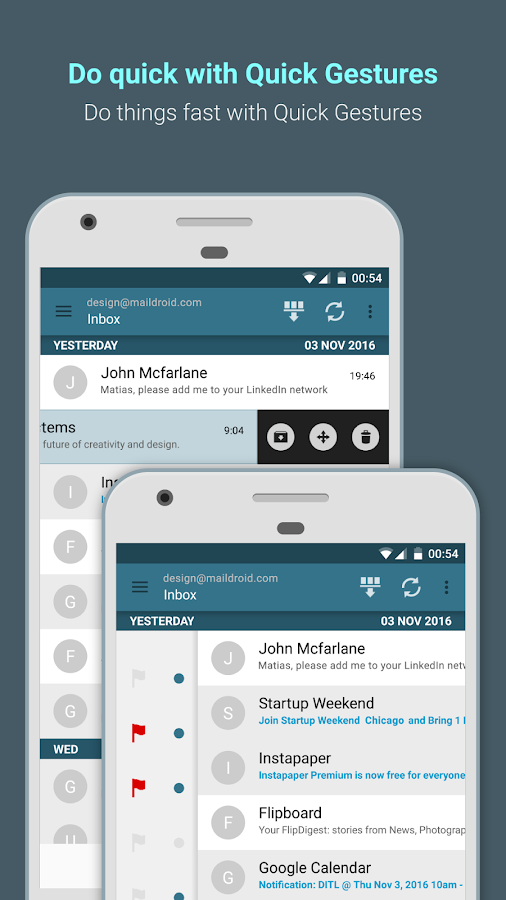 MailDroid - Free Email Application- screenshot
