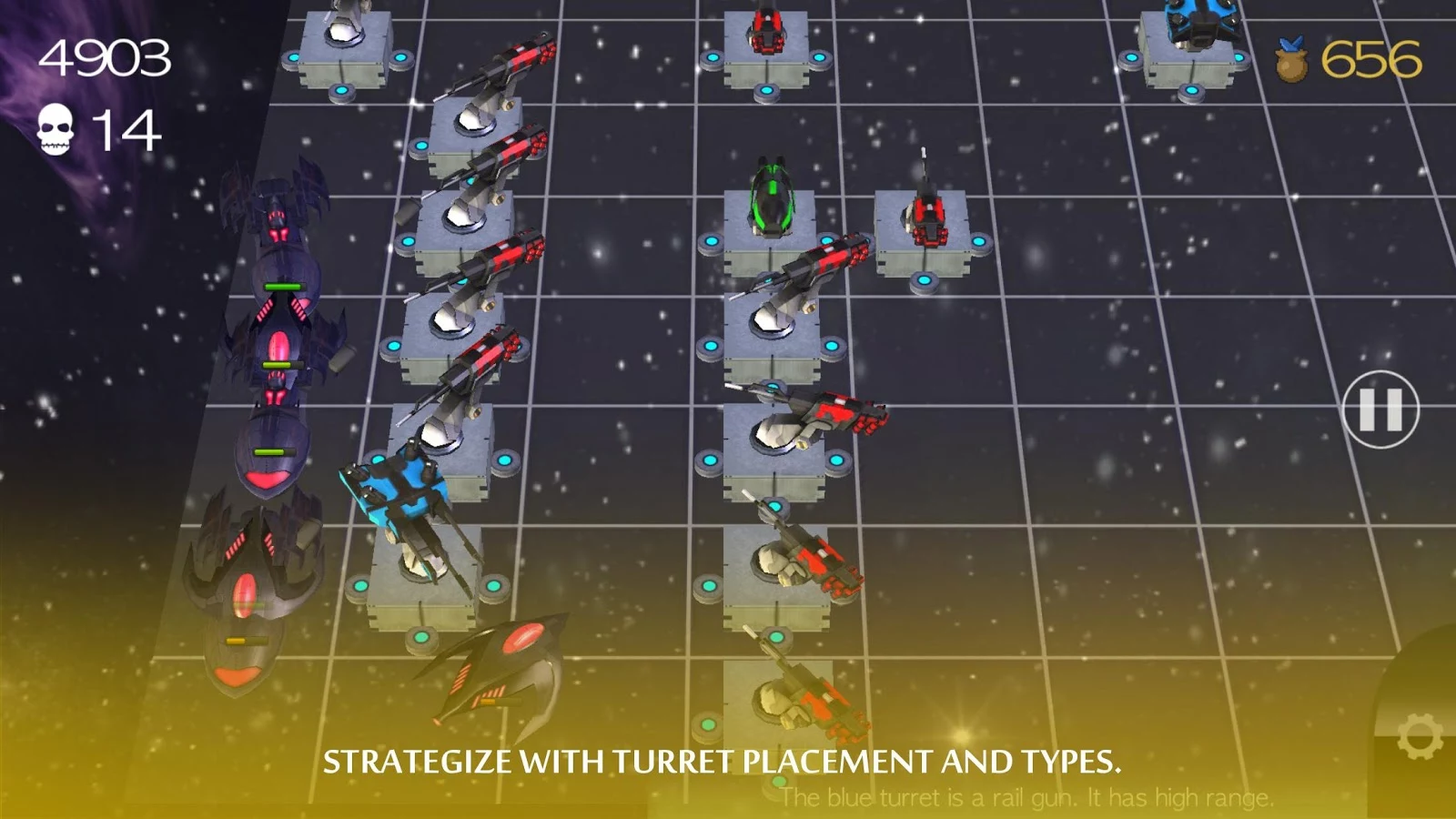 Aliens & Turrets AR- screenshot