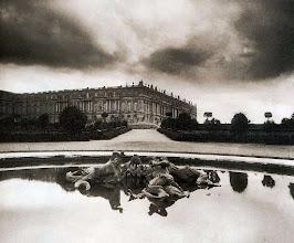 Photo: Versailles, parterre du Nord , bassin des Sirénes, 1903. .- EUGÈNE ATGET
