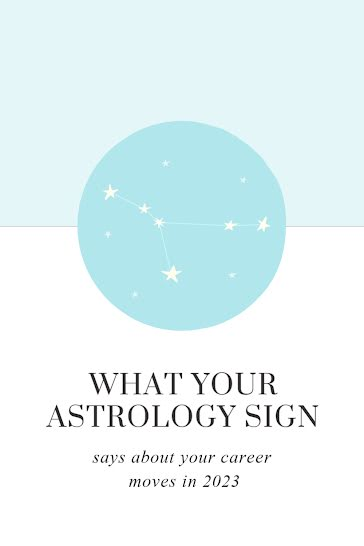 Your Astrology Sign - Pinterest Pin Template