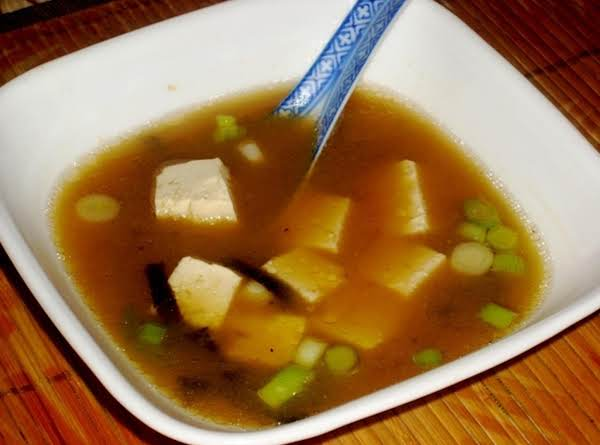 Home Made Miso Soup