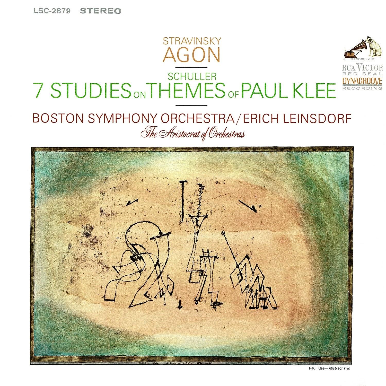 Erich Leinsdorf, Gunther Schuller, Igor Stravinsky