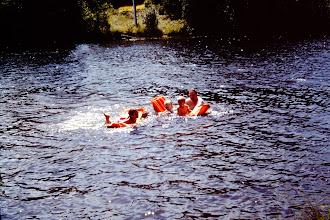 Photo: Kids swimming.