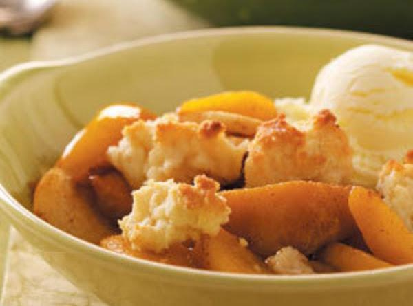 Norma's Quick Peach Cobbler Recipe