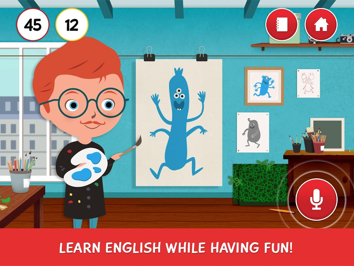 English for kids - Pili Pop- screenshot