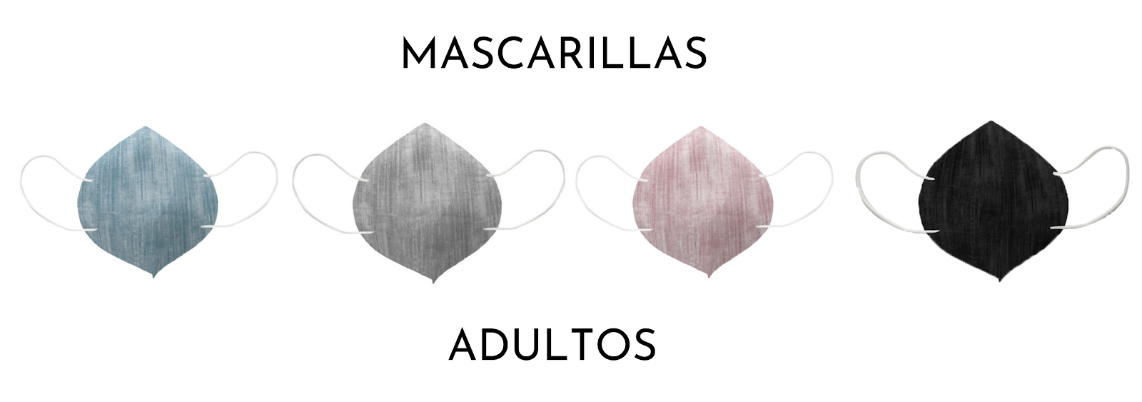 Mascarillas higiénicas homologadas para adultos en alcañíz