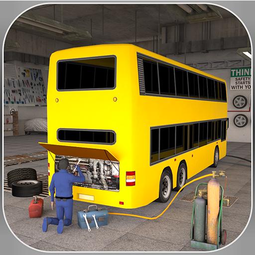 Bus Mechanic Workshop