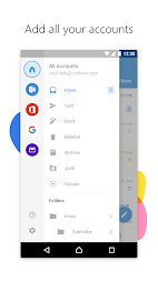 Microsoft Outlook APK screenshot thumbnail 1