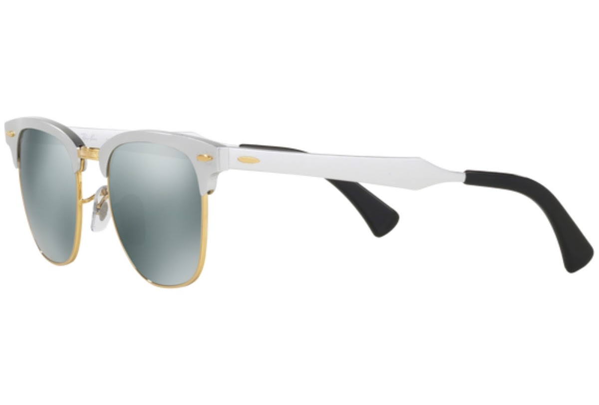 63fe490266 Buy Ray-Ban Clubmaster Aluminum RB3507 C51 137 40 Sunglasses