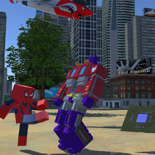 Craft Robot Exploration: Spider City