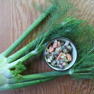Fennel Chopped Salad
