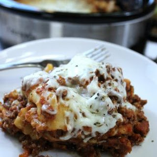 Lazy Day Crock pot Lasagna.