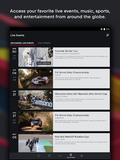 Red Bull TV: Movies, TV Series, Live Events screenshots 7