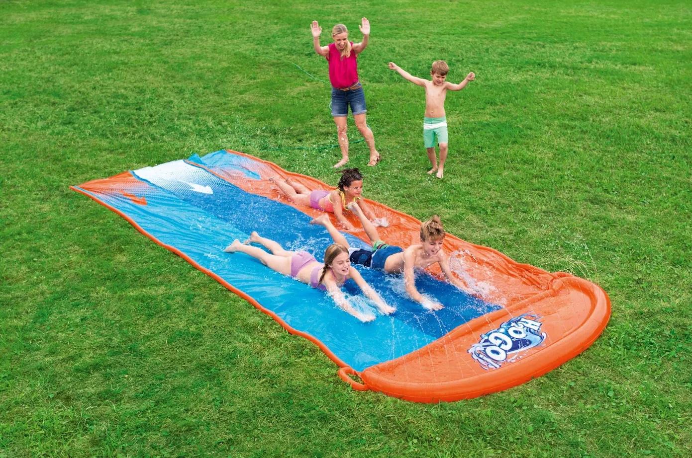 water play slip n slide