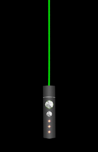 LED Laser Pointer Flashlight- screenshot thumbnail