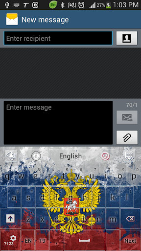 無料个人化AppのGO russo Keyboard HD tema|HotApp4Game