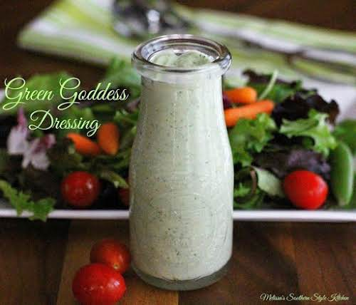 """Click Here for Recipe: Green Goddess Dressing """"It's a homemade dressing packed..."""
