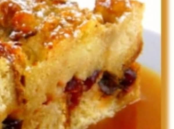 Eggnog Bread Pudding