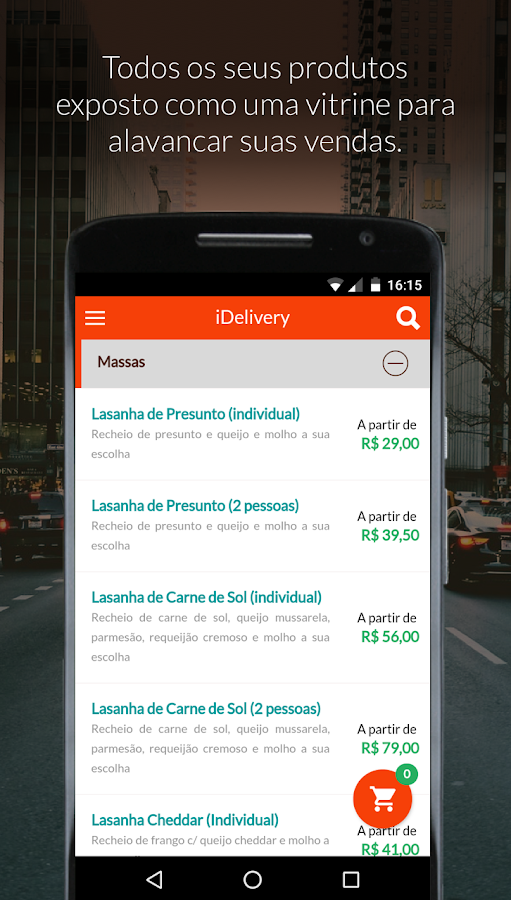 iDelivery- screenshot