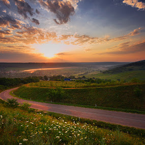 by Alexandru Popovski - Landscapes Prairies, Meadows & Fields