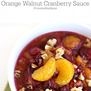 Cranberry Sauce With Walnuts And Mandarin Oranges Recipes
