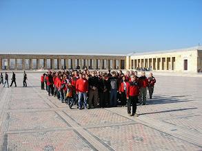 Photo: Saat 09.00 Mozole'ye çelenk koyma töreni Anıtkabir-Ankara-06.11.2010