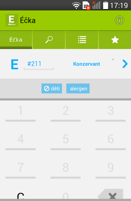 Éčka - screenshot