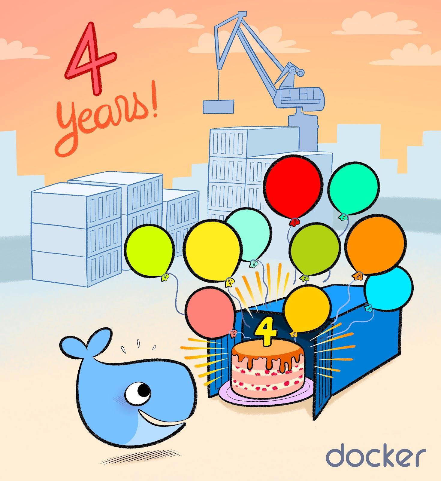 16 mars – Workshop «Docker Birthday Celebration #4