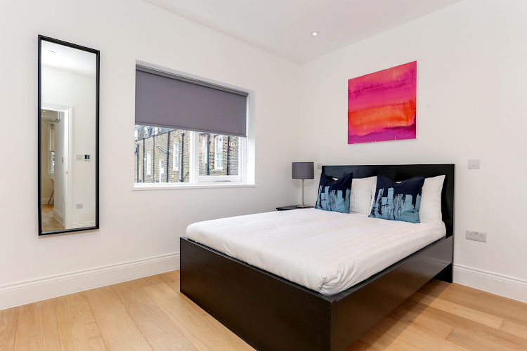 Bedroom at Kings Cross Apartments